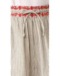 Ella Moss - Multicolor Marini Embroidered Shorts - Lyst