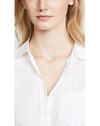 Jennifer Zeuner - Metallic Luz Mini Necklace - Lyst