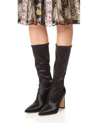 Sigerson Morrison - Black Holly Mid Calf Boots - Lyst