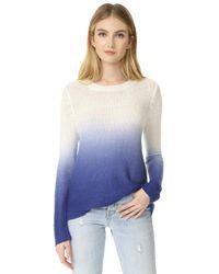BB Dakota - Blue Hattie Dip Dye Sweater - Lyst