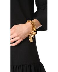 Ben-Amun - Metallic 11 Pendant Chain Bracelet - Lyst