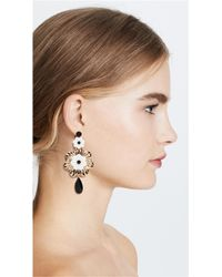 Kate Spade - Multicolor Posy Grove Statement Earrings - Lyst