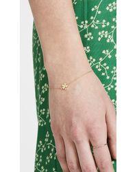 Jennifer Meyer - Metallic Mini Clover Bracelet - Lyst