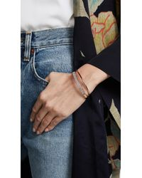 Kate Spade - Multicolor Heavy Metals Pave Row Bangle Bracelet - Lyst
