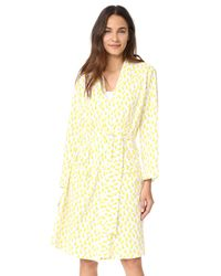 Roberta Roller Rabbit - Yellow Maternity Robe & Onesie Set - Lyst