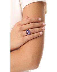 Holly Dyment - Metallic Americana Blue Eye Ring - Lyst