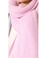 Free People - Pink Kennedy Scarf - Lyst