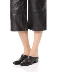 DKNY - Black Transformer Fold Down Flats - Lyst