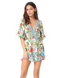 Camilla - Multicolor One Flew Over Frill Romper - Lyst