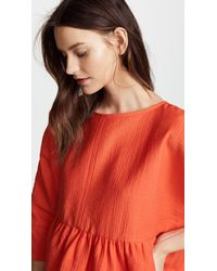 Rachel Comey - Red Oust Top - Lyst