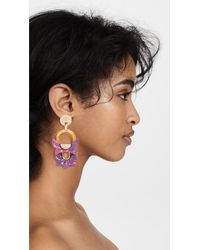 Lele Sadoughi - Pink Rio Earrings - Lyst