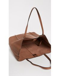 Rebecca Minkoff - Brown Medium Unlined Tote - Lyst