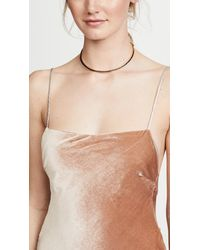 Eddie Borgo - Metallic Peaked Collar Necklace - Lyst