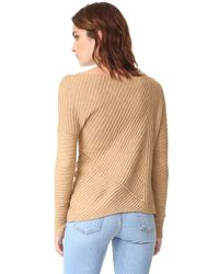 Free People - Natural Love And Harmony Sweater - Lyst