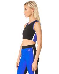 Monreal London - Blue Athlete Top - Lyst