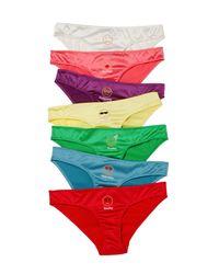 Morgan Lane - Multicolor Alison Lou Emojis Of The Week Panty Set - Lyst
