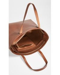 Madewell - Brown Zipper Transport Tote - Lyst