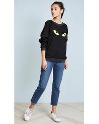 Wildfox - Black Cat Sweatshirt - Lyst