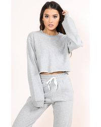 Showpo | Gray On The Chill Jumper In Grey Marle | Lyst