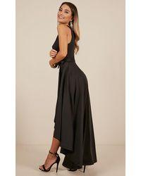 Showpo - Magic Dancer Dress In Black - Lyst