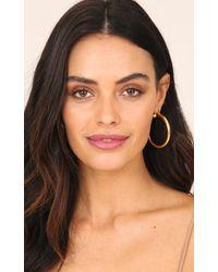 Showpo - Multicolor Reversed Earrings In Gold - Lyst