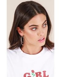Showpo - Multicolor Lost Opportunity Earrings In Silver - Lyst
