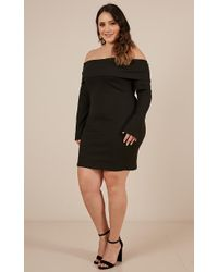 Showpo - Black Hearts Are Wild Dress - Lyst