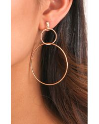 Showpo - Multicolor You Deserve It Earrings In Gold - Lyst