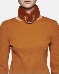 Faustine Steinmetz | Multicolor Hand Woven Mohair Collar | Lyst