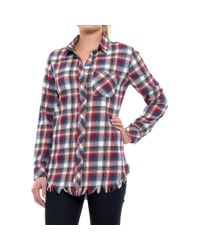 f22f9108fc Beach Lunch Lounge. Women's Elyse Flannel Shirt