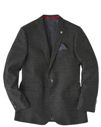 Simply Be - Gray Joe Browns Check Suit Jacket for Men - Lyst