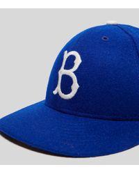 KTZ - Blue 59fifty Low Profile Brooklyn Dodgers Cap for Men - Lyst