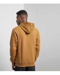Carhartt WIP - Brown Chase Hoody for Men - Lyst