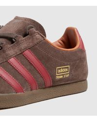 Adidas Originals - Brown Trimm Star - Size? Exclusive - Lyst