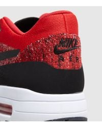 Nike - Red Air Max 1 Ultra Flyknit for Men - Lyst