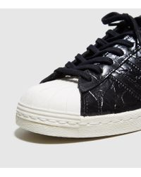 Adidas Originals | Black Superstar 80s Women's | Lyst