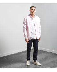 Carhartt WIP - Pink Long-sleeved Pocket Shirt for Men - Lyst