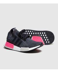 Adidas Originals - Black Nmd_r1 Primeknit Women's - Lyst