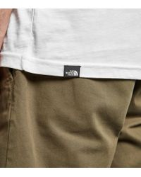 The North Face - White Fine Box T-shirt for Men - Lyst