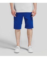 Nike - Blue Tech Fleece 2.0 Shorts for Men - Lyst