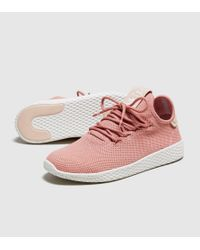 fecbd7193344b Lyst - adidas Originals Pharrell Williams Tennis Hu Trainers Women s ...
