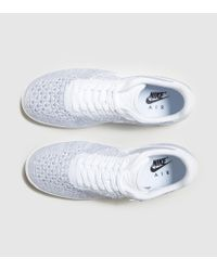 Nike - White Air Force 1 Ultra Flyknit Low for Men - Lyst