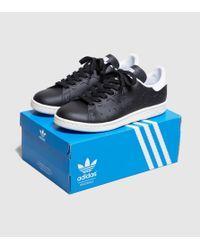 Adidas Originals - Black Stan Smith Lazer Women's - Lyst