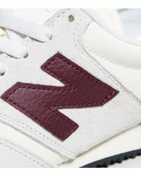 New Balance - White 420 Suede for Men - Lyst