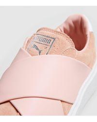PUMA Platform X Trainers Pink