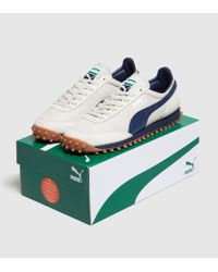 PUMA | White Fast Rider Vintage for Men | Lyst