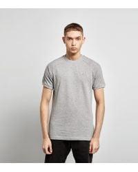Camiseta Adidas Originals Crew Pique en gris gris para 19994 hombre Adidas Lyst 3833604 - allpoints.host