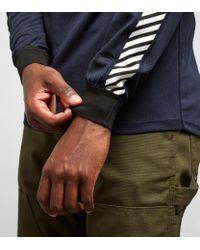 Helly Hansen - Blue Lifa Stripe Crew Long Sleeved T-shirt for Men - Lyst