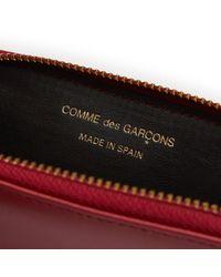 Comme des Garçons - Red Classic Sa410x Wallet - Lyst