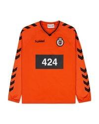 Hummel - Orange 424 X Long Sleeve Jersey Top for Men - Lyst